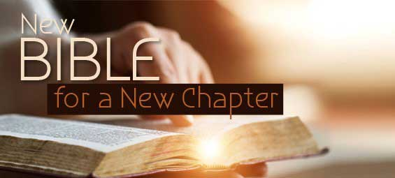 New Bible for a New Chapter