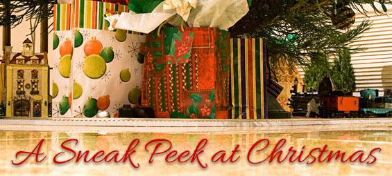 A Sneak Peek at Christmas