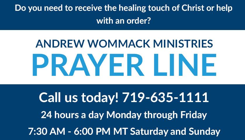 Line prayer 24 hour TOLL FREE